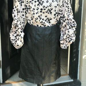 Dresses & Skirts - Leather tube skirt 💴